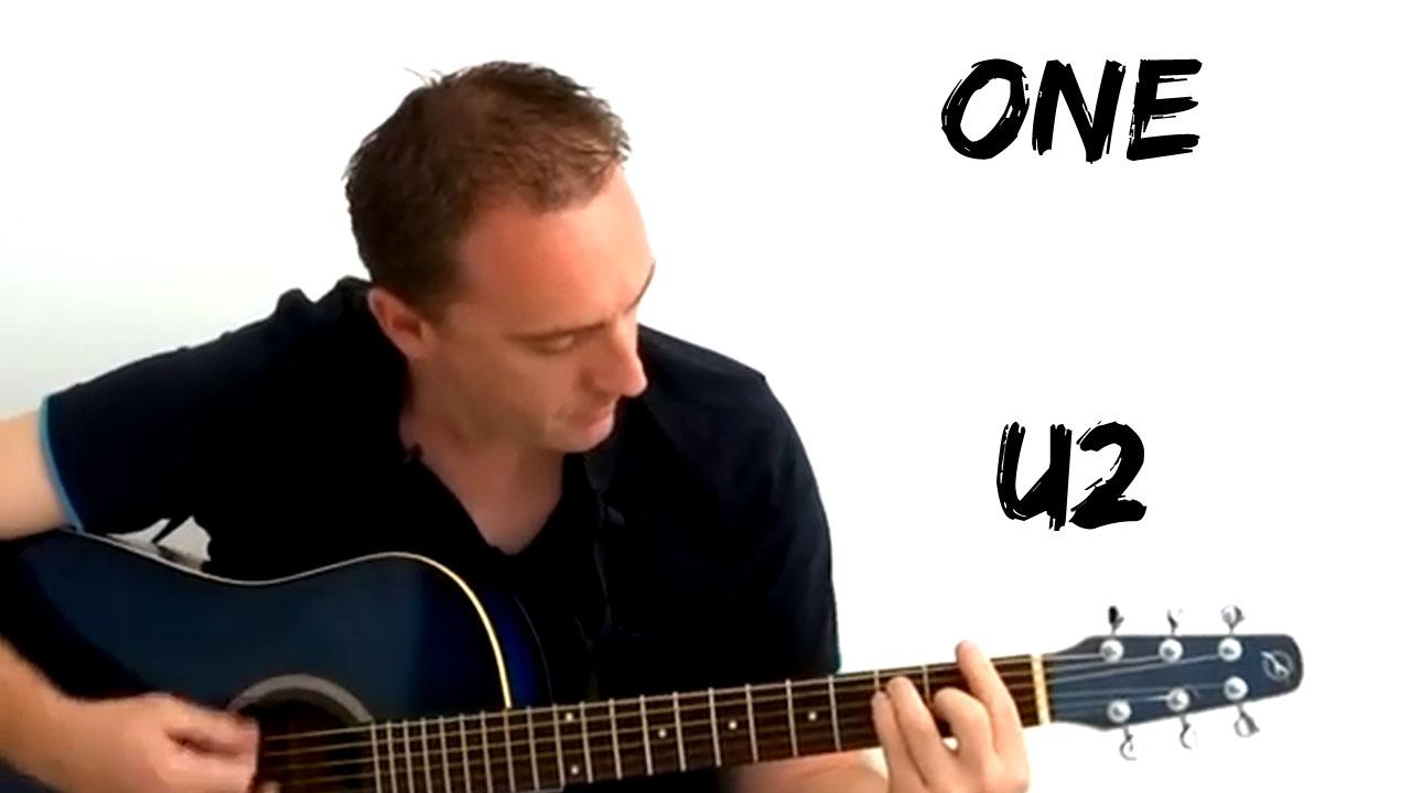 Voici comment jouer One de U2 à la guitare