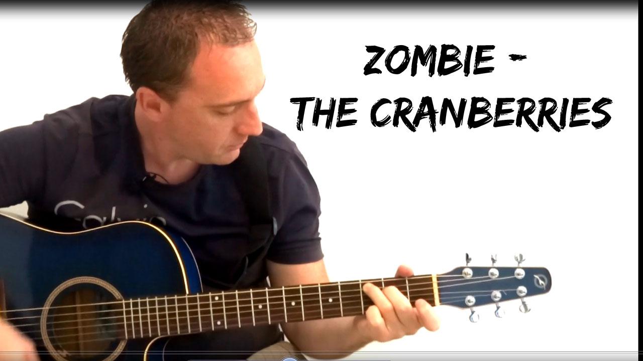 """Voici comment jouer """"Zombie – The Cranberries"""" très facilement à la guitare acoustique"""